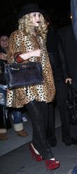 Mary-Kate Olsen and Tim Burton