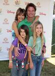 Lisa Rinna, Harry Hamlin with their daughters Delilah Belle and Amelia Gray