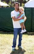 David Charvet with his daughter