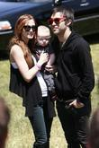 Ashlee Simpson, son Bronx Mowgli Wentz and Pete Wentz