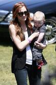Ashlee Simpson and son Bronx Mowgli Wentz