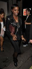 Estelle at the Topshop London Fashion Show afterparty...