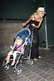 Tori Spelling and daughter Stella