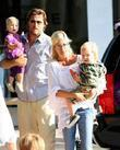 Tori Spelling and Dean McDermott  with their...
