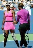 Venus Williams, Billie Jean King and Serena Williams