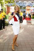 Christie Brinkley 2009 US Tennis Open - Day...