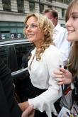 Geri Halliwell  25th anniversary London Fashion Week...