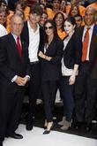 Mayor Michael Bloomberg, Ashton Kutcher and Demi Moore