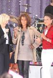 Diane Sawyer and Whitney Houston