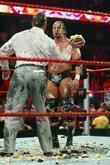 Triple H and Vince McMahon WWE Raw held...