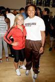 Shawn Johnson, American Olympic gymnast and Elana Meyersm 2010 USA Bobsled Team