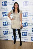 Angie Harmon The Alliance for Children's Rights honors...
