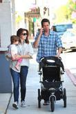 Alyson Hannigan, Her Husband Alexis Denisof and Their Daughter Satyana