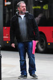 **Exclusive** Chris Moyles at Radio one London, England