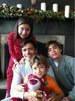 Mark Consuelos and his family on Christmas Day...