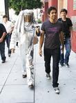 Adrian Grenier and Kim Kardashian