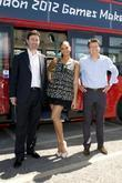 Alesha Dixon and Lord Sebastian Coe