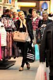 Alex Curran aka Alex Gerrard shopping at the...