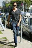 'true Blood' Star Alexander Skarsgard Leaving Lemonade In West Hollywood After Having Lunch With Friends.