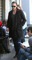 Alexander Skarsgard enjoys lunch with friends at Joan's...