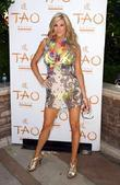 'the Real Housewives Of Orange County' Star Alexis Bellino Arrives To Host Luau At Tao Beach In The Venetian Resort Hotel