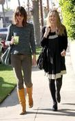 Alicia Silverstone leaving the vegetarian restaurant Real Food...