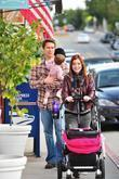 Alyson Hannigan with husband Alexis Denisof and daughter...