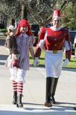 Alyson Hannigan dresses up for Halloween at a...