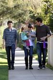 Alyson Hannigan her husband Alexis Denisof and their...