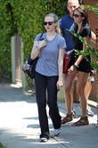 Amanda Seyfried departs a private gym with her...