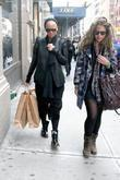 Amber Rose shopping in SoHo with a friend...