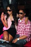 Amerie and her fiance Lenny Nicholson