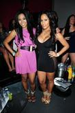 Amerie And Rosa Acosta At Club...