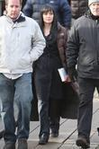 Angelina Jolie on the Manhattan set of her...