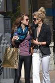 AnnaLynne McCord, her sister Angel McCord go shopping together at The Grove.