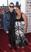 Damien Leith and his wife
