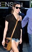 Ashlee Simpson-Wentz arriving at her hotel New York...