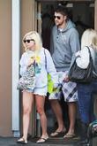 Ashley Tisdale, her boyfriend Scott Speer enjoy a sunny Sunday at Cross Creek in Malibu