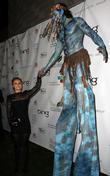 Hayden Panettiere and 'Avatar' Na'vi