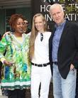 CCH Pounder and James Cameron