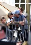 David Beckham and Jonas Brothers
