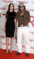 Angelina Jolie, Berlin and Johnny Depp
