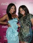 Ashanti and sister Shia Douglas