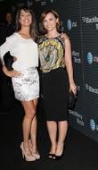 Lea Michele and Christina Ricci