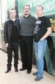 Aaron Paul, Vince Gilligan and Bryan Cranston
