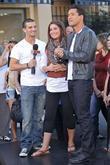 Mark Ballas, Bristol Palin, Mario Lopez