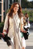 Brooke Burke and Her Daughter Neriah At Cross Creek In Malibu