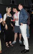Pixie Geldof, Bryan Ferry and Noel Fielding