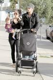 Cam Gigandet, Dominique Geisendorff and Everleigh Rae Gigandet