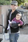 Cam Gigandet and Everleigh Rae Gigandet